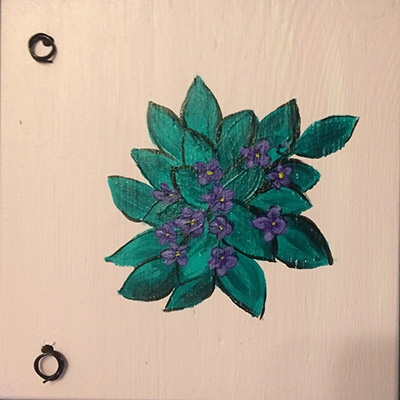 Wall Hanging - S grotei silvert clone
